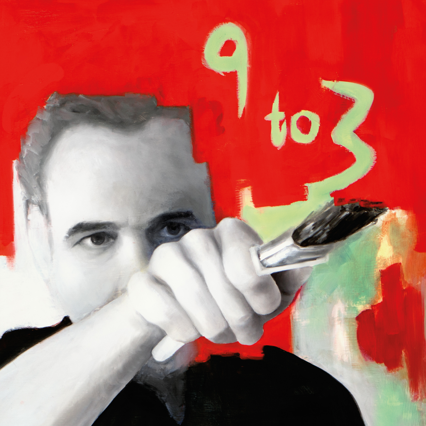 Front cover of Ajay Mathur's new album '3 to 9'.